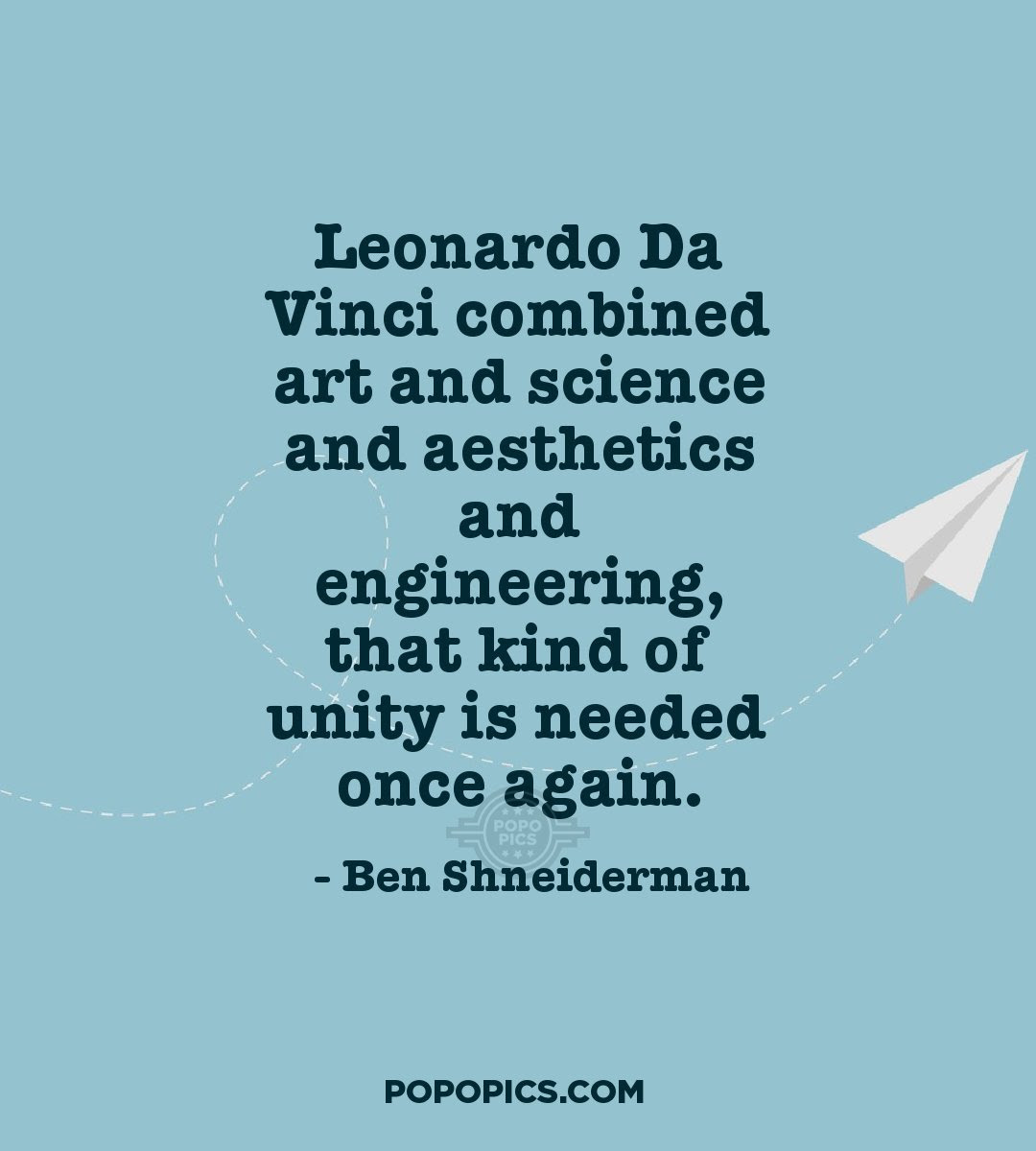 Leonardo Da Vinci Combined Art And Science And Quotes By Ben