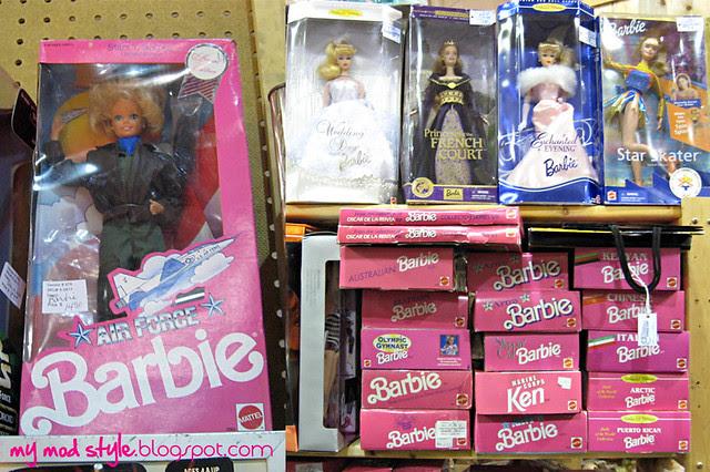 Brass Armadillo Barbies