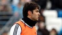 Evangélico Kaká comemora gol no amistoso contra o Iraque