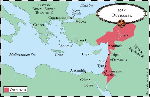 Map 1135Outremer