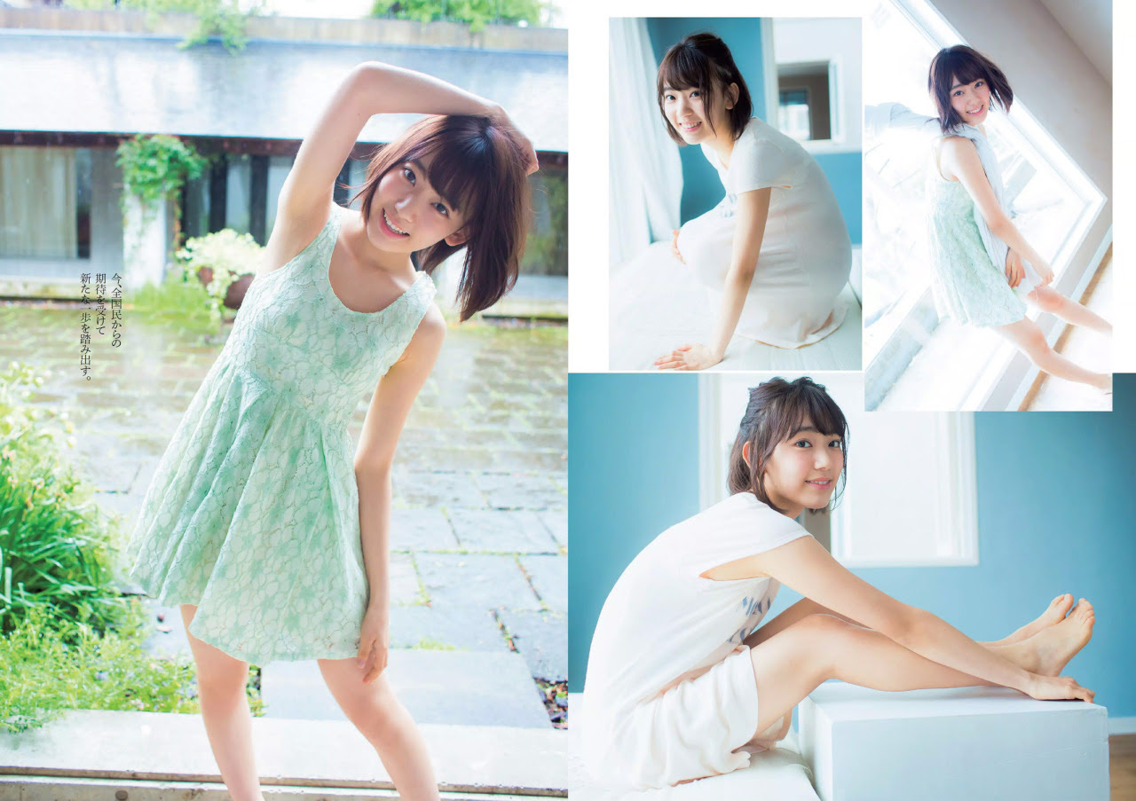 Sakura Weekly Playboy No 22 2015 Hkt48 壁紙 38489067