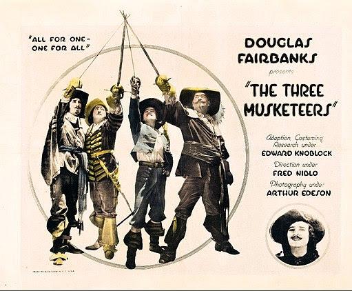 The three musketeers fairbanks