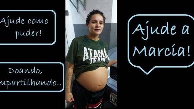 Márcia contou que engravidou após sofrer estupro coletivo