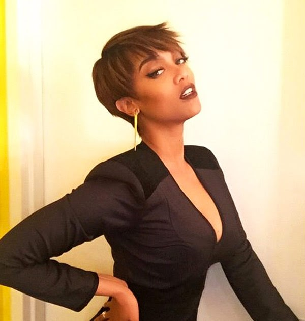 New Tyra Banks: Hello There.: Tyra Banks's New Pixie Makes Her Feel Like A