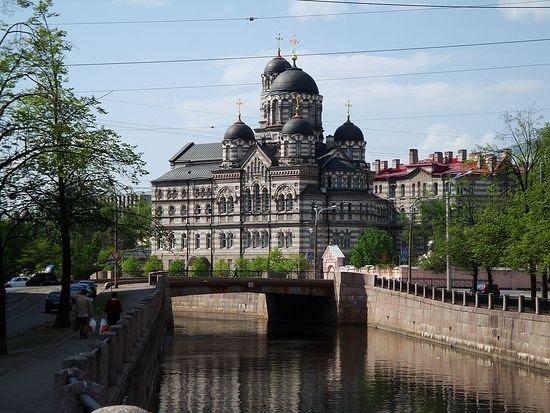 The Monastery of St. John, St. Petersburg.