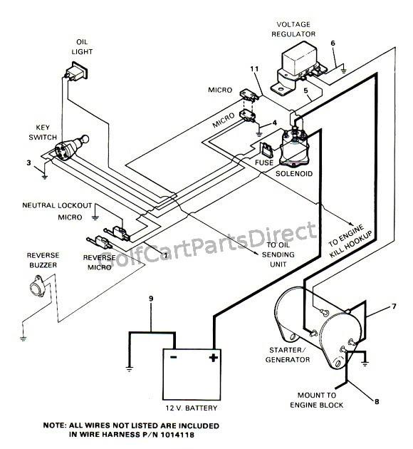 1993 Club Car Battery Wiring