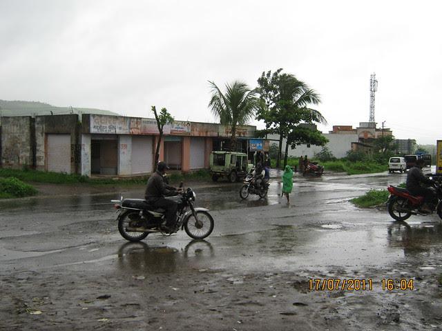 Road from Ghotawade Phata at Urawade Naka on Temghar Lavasa Road - Visit to Mont Vert Vesta Urawade Pirangut Pune 412 108
