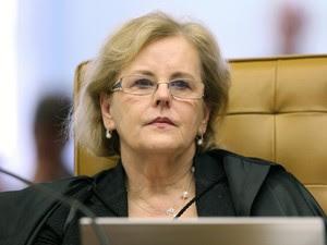 Ministra Rosa Weber no julgamento do mensalão. (Foto: Nelson Jr./SCO/STF)
