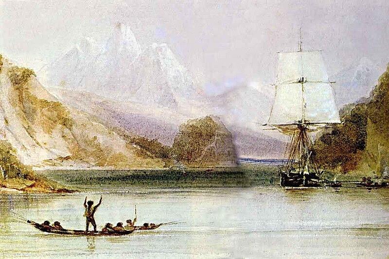 Ficheiro:HMS Beagle by Conrad Martens.jpg