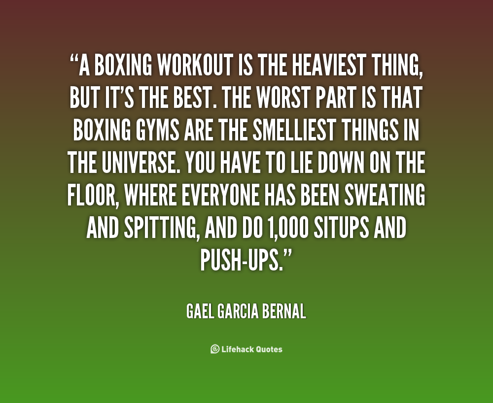 Boxing Training Quotes. QuotesGram