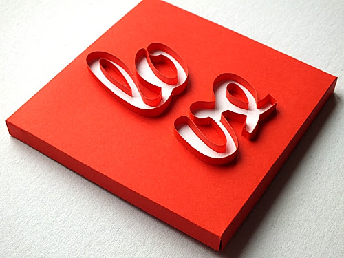 quilled-lettering-love