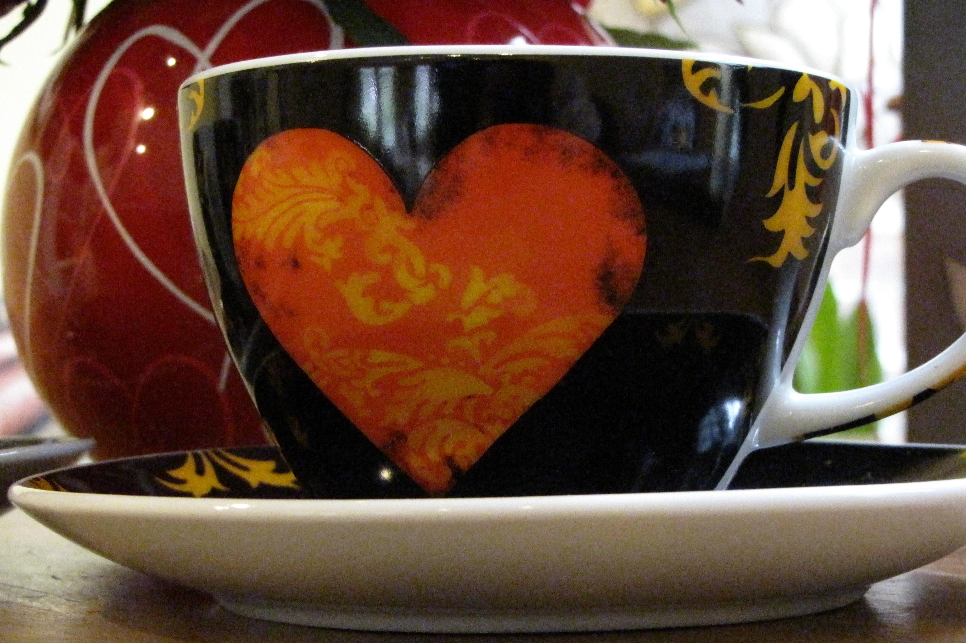 Heart Teacup