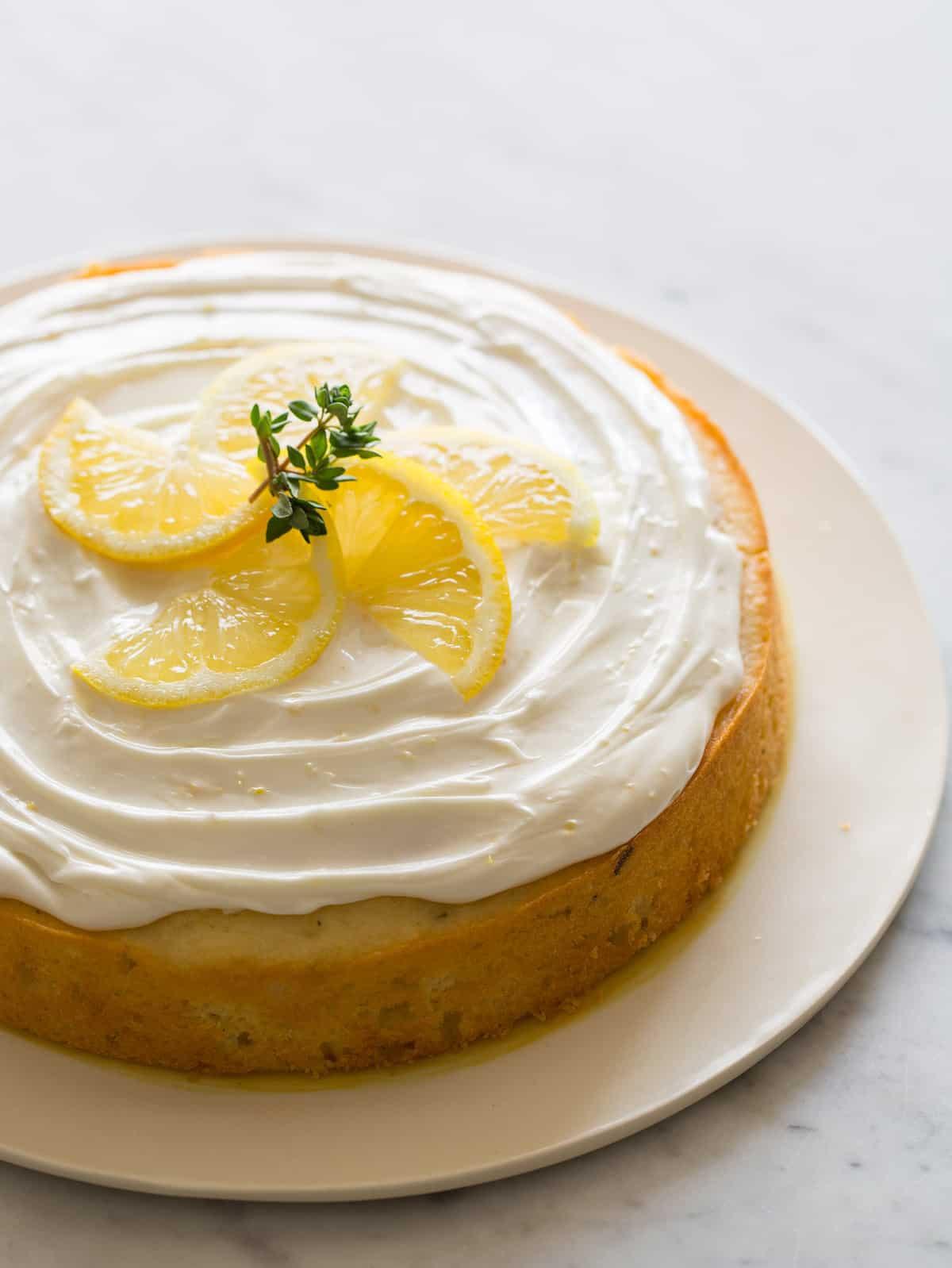 Lemon Thyme Cake | Spoon Fork Bacon