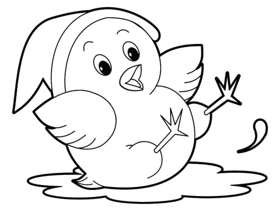 20+ Free Printable Cute Animal Coloring Pages ...