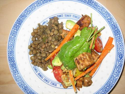 tempe salad