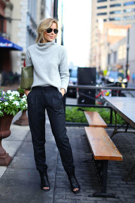10 failproof formulas for winter work outfits  more