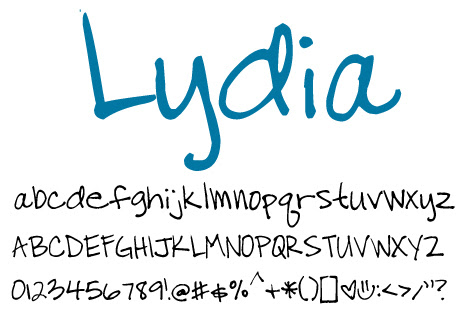 click to download Lydia