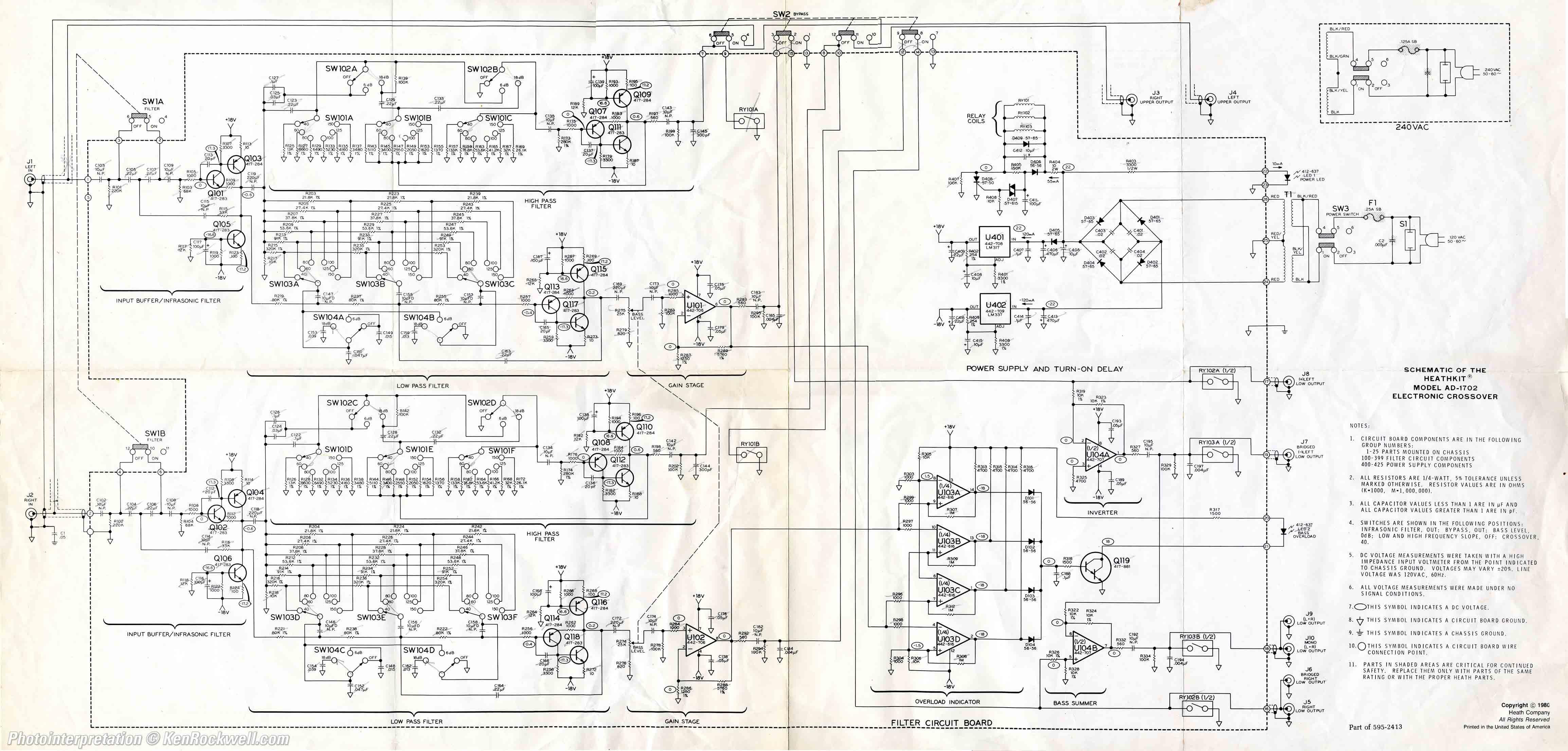 Subwoofer Schematic Diagram