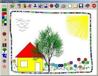 Drawing for Children, un logiciel pour les enfants