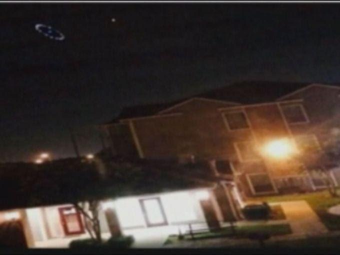ovni houston 2 OVNI avistado durante tempestade de chuva em Houston (EUA)
