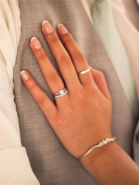 10 French Manicure Ideas for Your Wedding Day   Wedding