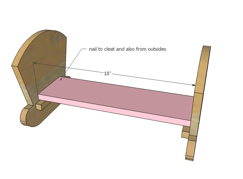Once: Learn Wood doll cradle free plans