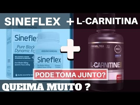 Sineflex e L Carnitina : Pode tomar junto? Como consumir? Pode L-Canitine com termogênico? Da merda?
