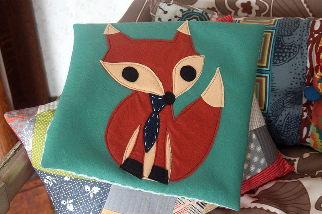 Mr Fox Pillow Cover