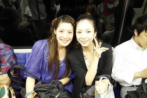Actresses of Seesaw, Maki Murakami and Sora