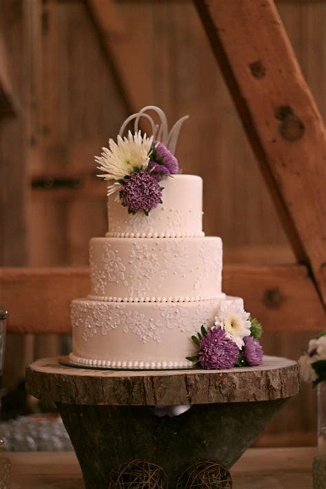 Jill & Dave?s lace inspired wedding cake   The Couture Cakery