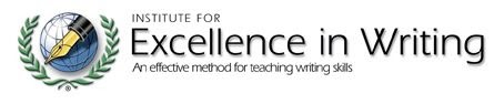 excellence in writing Institute for excellence (iew) in writing's teaching writing with structure and style course teaches teachers how to teach writing.