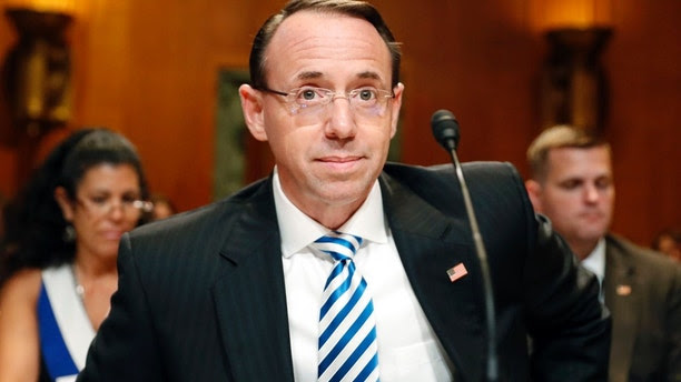 Image result for Could Rosenstein recuse? Deputy AG's role in question as Trump turns up heat