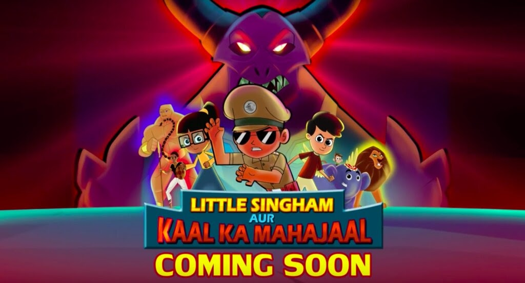 Little Singham Kaal Ka Mahajaal Music - Surge j