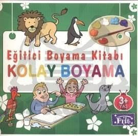 Eğitici Boyama Kitabı Kolay Boyama 3 Yaş üstü Kolektif 20