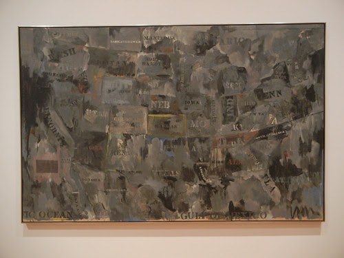 DSCN8744 _ Map, 1962, Jasper Johns (b. 1930), MOCA