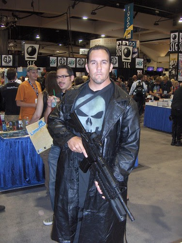 The Punisher, lookin' for perps