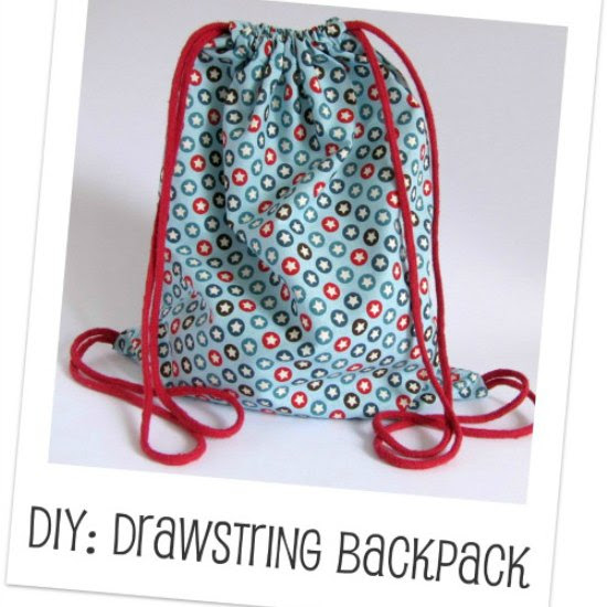 Make Drawstring Backpack Handmade Kidshandmade Kids