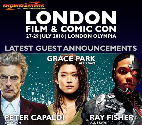 London Film And Comic Con 2018 Guests