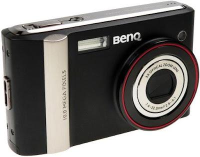 BenQ DC E1000 camera - Review