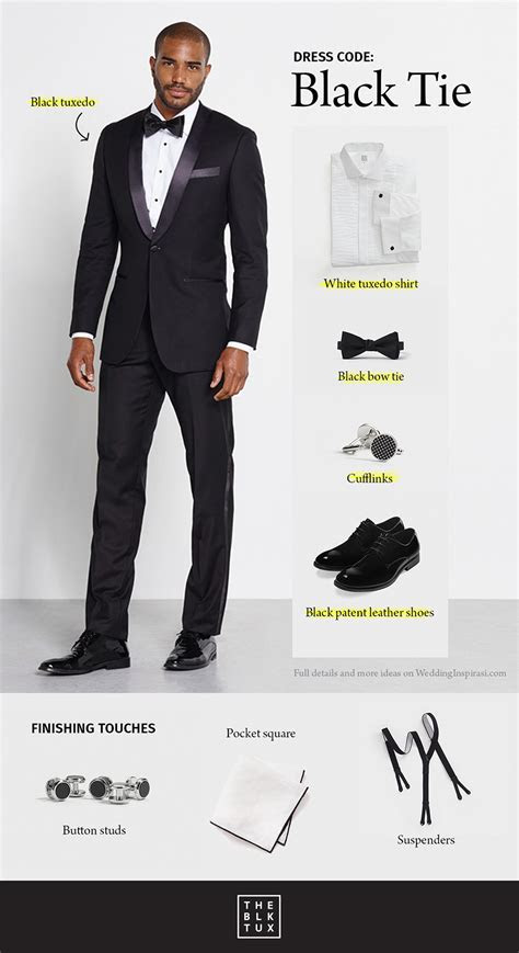 decoding dress codes  smart   black tux