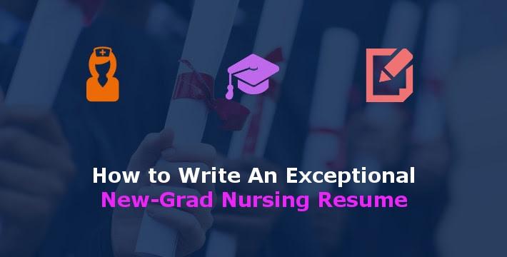 new grad nursing resume how to
