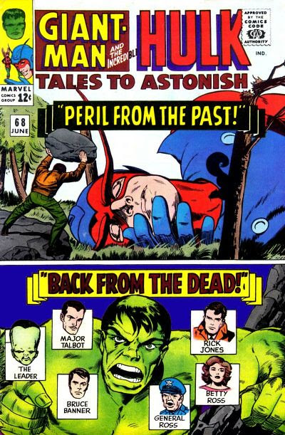 Tales to Astonish 068