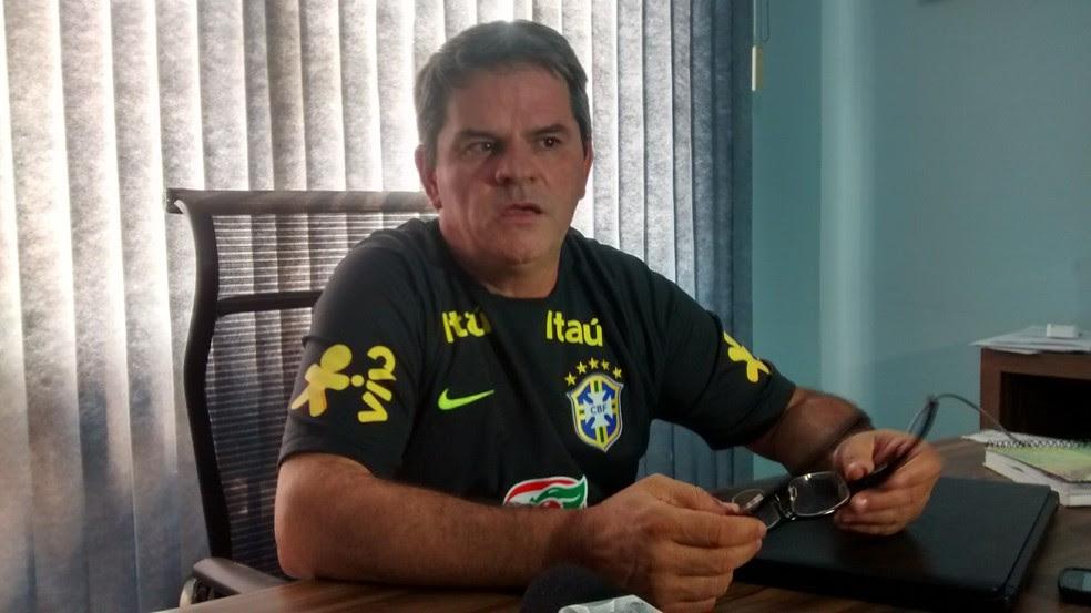 Helmute Lawisch foi presidente da Federação Mato-grossense de Futebol em 2014 (Foto: Robson Boamorte)