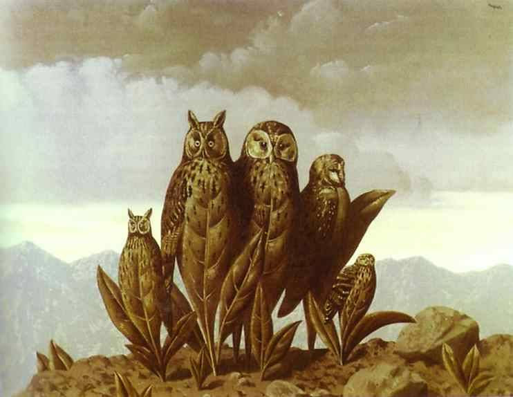 Companions of Fear, 1942 Rene Magritte
