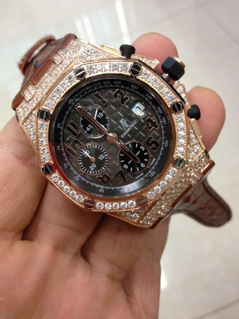 Audemars Piguet Diamond Watch 3