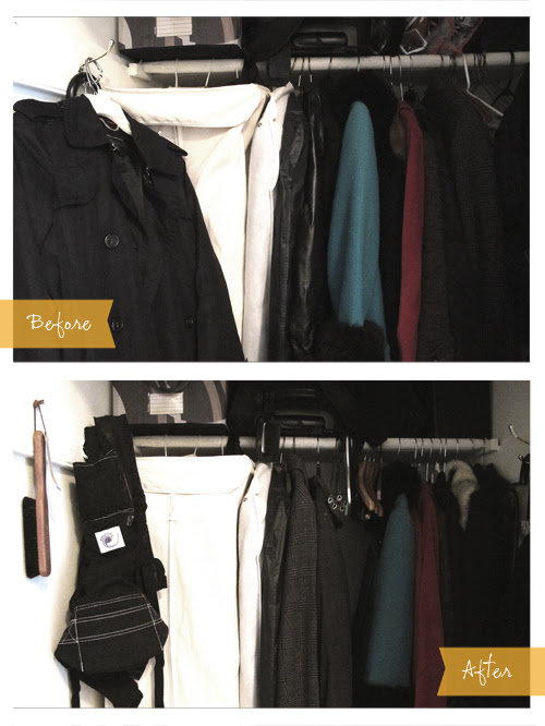 Organize Jackets by Color and by Weight