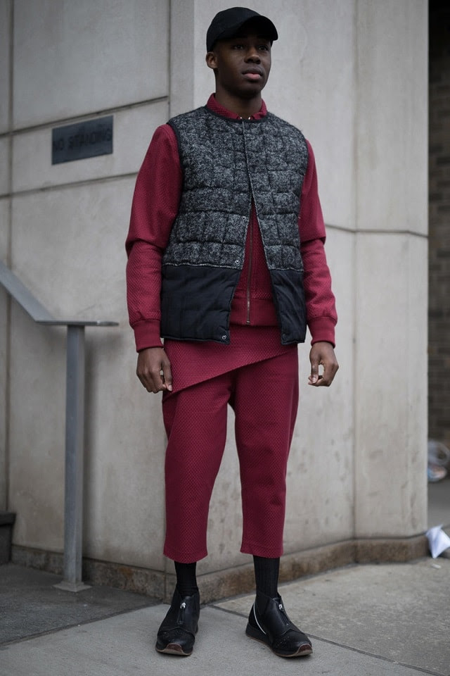 New York Men's Fashion Week Fall 2017 Street Style - Photo Emily Malan