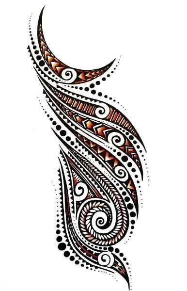 Tattoo Trends Beautiful Polynesian Half Sleeve Tattoo Designjpg
