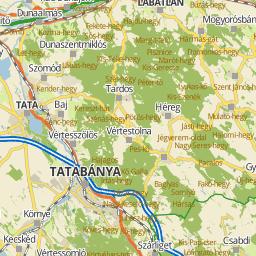 tata és környéke térkép Tata és Környéke Térkép | Térkép