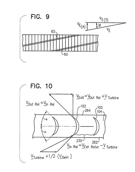 Patente US20030014960 - Impulse turbine for rotary ramjet